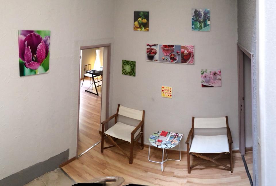 Salle d'attente de mon cabinet de Bagnols-sur-Cèze