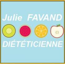 Julie FAVAND Diététicienne-nutritionniste